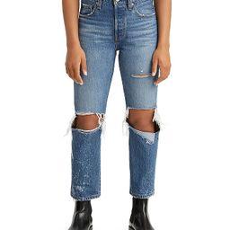 501 Original Cropped Jeans in Athens Ranks   Bloomingdale's (US)