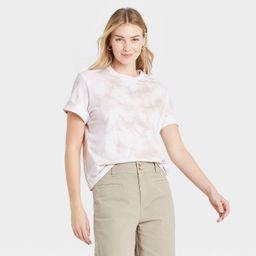Women's Short Sleeve Cuff T-Shirt - A New Day™   Target