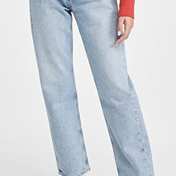 90's Mid Rise Loose Fit Jeans | Shopbop