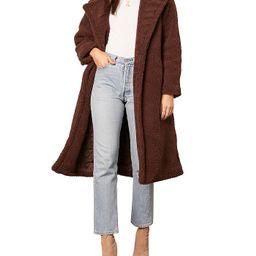 Notch-Lapel Teddy Coat   Bloomingdale's (US)