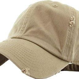 KBETHOS Vintage Washed Distressed Cotton Dad Hat Baseball Cap Adjustable Polo Trucker Unisex Styl...   Amazon (US)