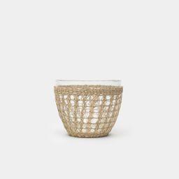 Seagrass Medium Cage Salad Bowl | Amber Interiors