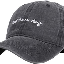Vintage Hat Bad-Hair-Day Dad Embroidered Baseball-Cap Distressed | Amazon (US)