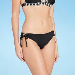 Women's Medium Coverage Keyhole Hipster Bikini Bottom - Kona Sol™ | Target