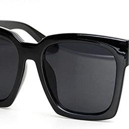 O2 Eyewear 7151 Premium Oversize XXL Women Men Fashion Sunglasses | Amazon (US)