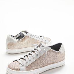 Gold Glitter Sneaker | Evereve