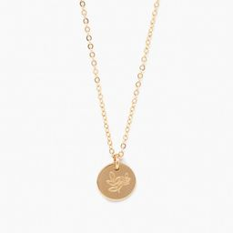 She's Worth More Grow Mini Tag Necklace   Live Fashionable