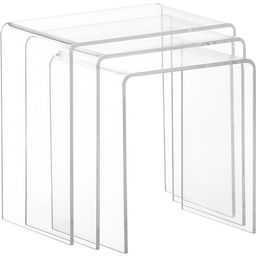 Clear Acrylic Nesting Tables (Set of 3) | Overstock