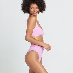 pointelle rib frenchi bikini bottom | L*Space