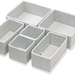 Simple Houseware Foldable Cloth Storage Box Closet Dresser Drawer Divider Organizer Basket Bins f...   Amazon (US)