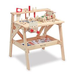 Melissa & Doug Solid Wood Project Workbench Play Building Set | Target