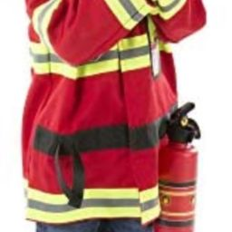 Amazon.com: Melissa & Doug Fire Chief Role Play Costume Set: Toys & Games | Amazon (US)