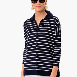Breton Stripe Clayton Knit Polo   Tuckernuck (US)