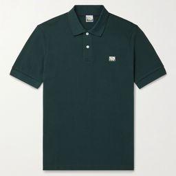 Green + Paul Weller Cotton-Piqué  Polo Shirt   SUNSPEL   MR PORTER   Mr Porter (US & CA)
