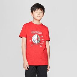 Boys' Baseball Short Sleeve Graphic T-Shirt - Cat & Jack™ Red M | Target