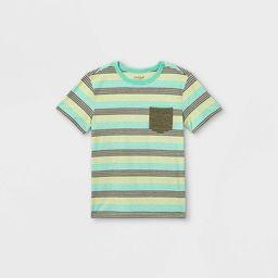 Boys' Short Sleeve Pocket T-Shirt - Cat & Jack™ | Target