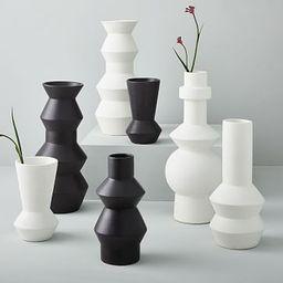 Ceramic Totem Vases   West Elm (US)
