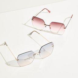 LA Lady Oversized Sunglasses | Free People (US)