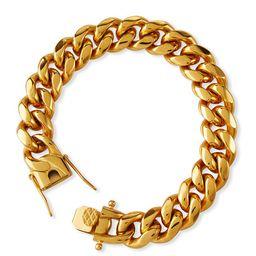 Ruth Curb Chain Bracelet, 12mm | Neiman Marcus