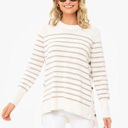 Latte Bar Harbor Striped Sweater | Tuckernuck (US)
