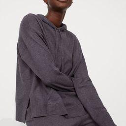Wool-blend Sweater Hoodie   H&M (US)