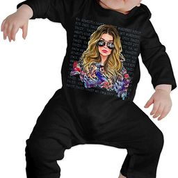 Alexis Ew David Baby Long Sleeve Bodysuit Pocketless Cotton Long-Sleeved Bodysuit 0-24 Months   Amazon (US)