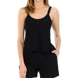A La Tzarina Women's Casual Shorts BLACK - Black Tank & Pocket Shorts - Women & Plus | Zulily