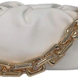 Cloud Bag Dumpling Shoulder Bag Chunky Chain Pouch Bag   Amazon (US)