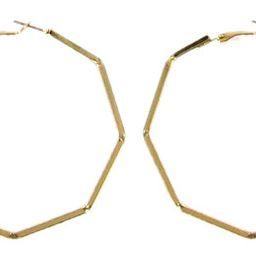 Gold Octagon Hoop | Walmart (US)