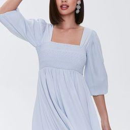 Smocked Mini Dress | Forever 21 (US)