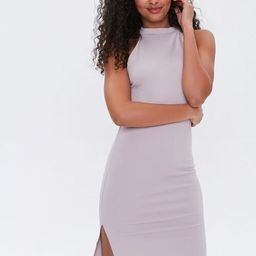 High-Neck Bodycon Dress | Forever 21 (US)