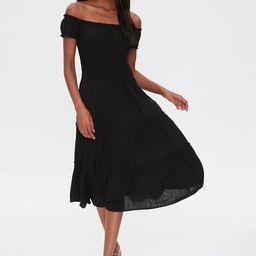 Linen Off-the-Shoulder Dress | Forever 21 (US)