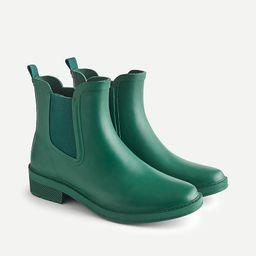 Chelsea matte rain boots   J.Crew US
