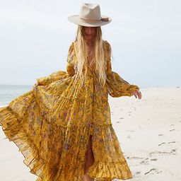 Cassis Printed Chiffon Dress | Free People (US)