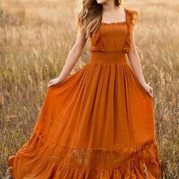 Dawn Dress in Spice | Joyfolie