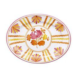 Blossom Hand-Painted Ceramic Platter | Moda Operandi (Global)