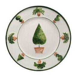 Gardens Hand Painted Dinner Ceramic Plates   Moda Operandi (Global)