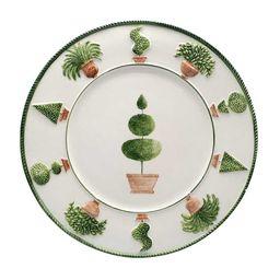 Gardens Hand Painted Dessert Ceramic Plates   Moda Operandi (Global)