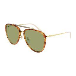 Gucci Men's Havana Acetate/Metal Aviator Sunglasses | Neiman Marcus