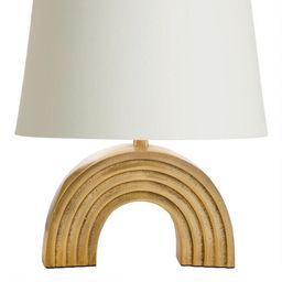 Gold Rainbow Accent Lamp Base   World Market
