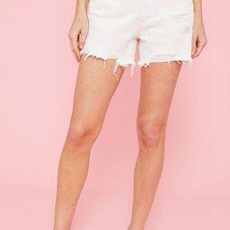 Free People White Makai Shorts | Social Threads