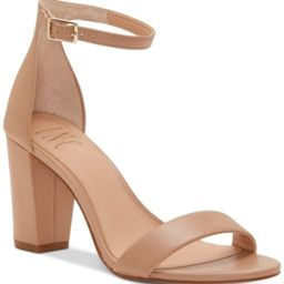 Inc Kivah Two-Piece Sandals, Created for Macy's Women's Shoes | Macys (US)