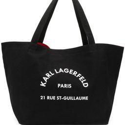 logo-print tote bag | Farfetch (US)