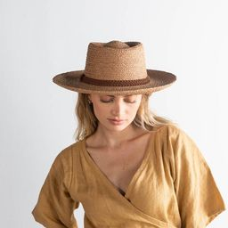 Luna Straw Gambler Hat   Gigi Pip