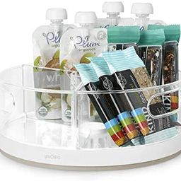 Amazon.com - YouCopia Crazy Susan Kitchen Cabinet Turntable and Snack Organizer with Bins - | Amazon (US)