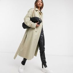 Mango belted trench coat in beige   ASOS (Global)
