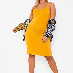 Plus Strappy Basic Bodycon Dress | Boohoo.com (US & CA)