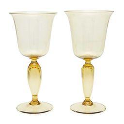 Set-Of-Two Red Wine Glasses | Moda Operandi (Global)