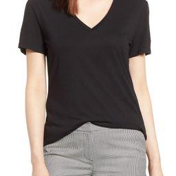Halogen® V-Neck Tunic T-Shirt (Regular & Petite)   Nordstrom   Nordstrom
