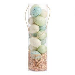 Speckled Easter Eggs in Tube 15 Pack | World Market